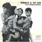 """Catálogo de la exposición """"Homenaje a Vietnam"""", Galería Van Riel."""