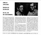Presentación de la exposición de Emilio Ghilioni - Rodolfo Elizalde