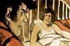 """Dibujo de Juan Pablo Renzi para """"Ezeiza. 20 de junio de 1973"""""""