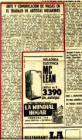 Artículo del diario San Miguel de Tucumán, jueves 24 de octubre de 1968