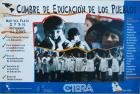 Cumbre de educación de los pueblos.