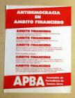 Antidemocracia en Ámbito Financiero