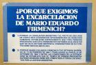 ¿Por qué exigimos la excarcelación de Mario Eduardo Firmenich?