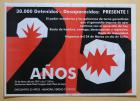 30.000 detenidos-desaparecidos: presentes!