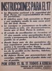 Instrucciones para el 17