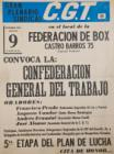Gran plenario sindical C.G.T.