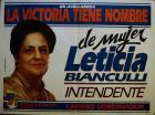 En Avellaneda la victoria tiene nombre de mujer