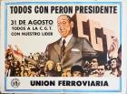 Todos con Perón presidente