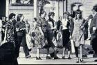 Madres de Plaza de Mayo en la ronda de los jueves