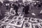 Afiche No al punto final. Cárcel a los genocidas. Gas-Tar/ Capataco