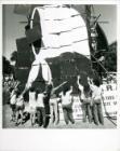 Rompecabezas de Pañuelo en la Marcha de la Resistencia de 1988