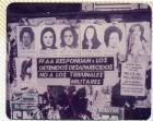 Murales con fotocopias para colorear, iniciativa de Gastar/Capataco en el Día internacional de la Mujer: fotocopias y consigna.