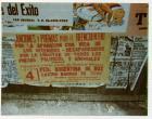 Afiche de familiares de desaparecidos y detenidos por razones políticas.