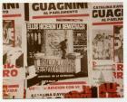 """Afiche sin firma """"Mártires de la represión"""""""