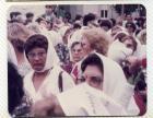 Madres de Plaza de Mayo durante una marcha
