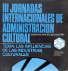 III Jornadas Internacionales de Admnistración Cultural